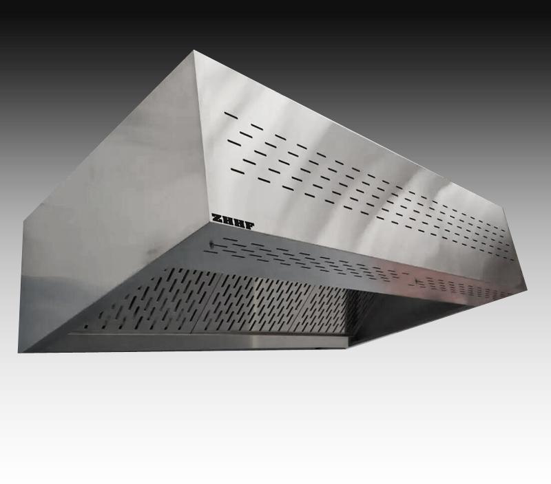 商用厨房明档专用 豪华款带送新风排烟罩